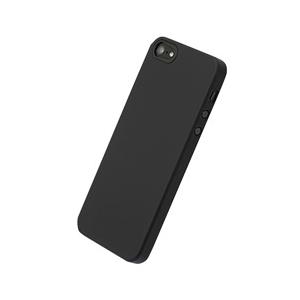 80167739ce パワーサポート エアージャケットセット iPhone SE/5s/5用 ラバーブラック PJK72