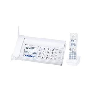 パナソニック (ホワイト) 子機1台 【長期保証付】 デジタルコードレス普通紙ファクス KX-PZ500DL-W おたっくす